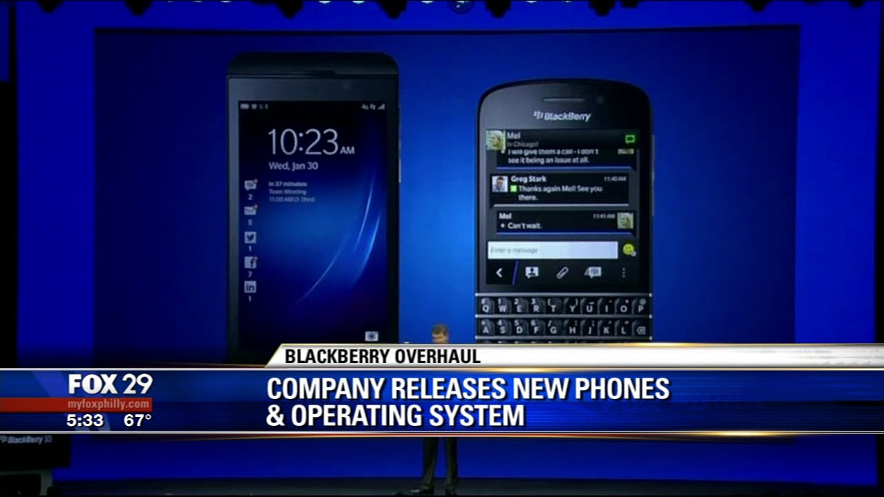 Fox 29 News - New Blackberry Devices