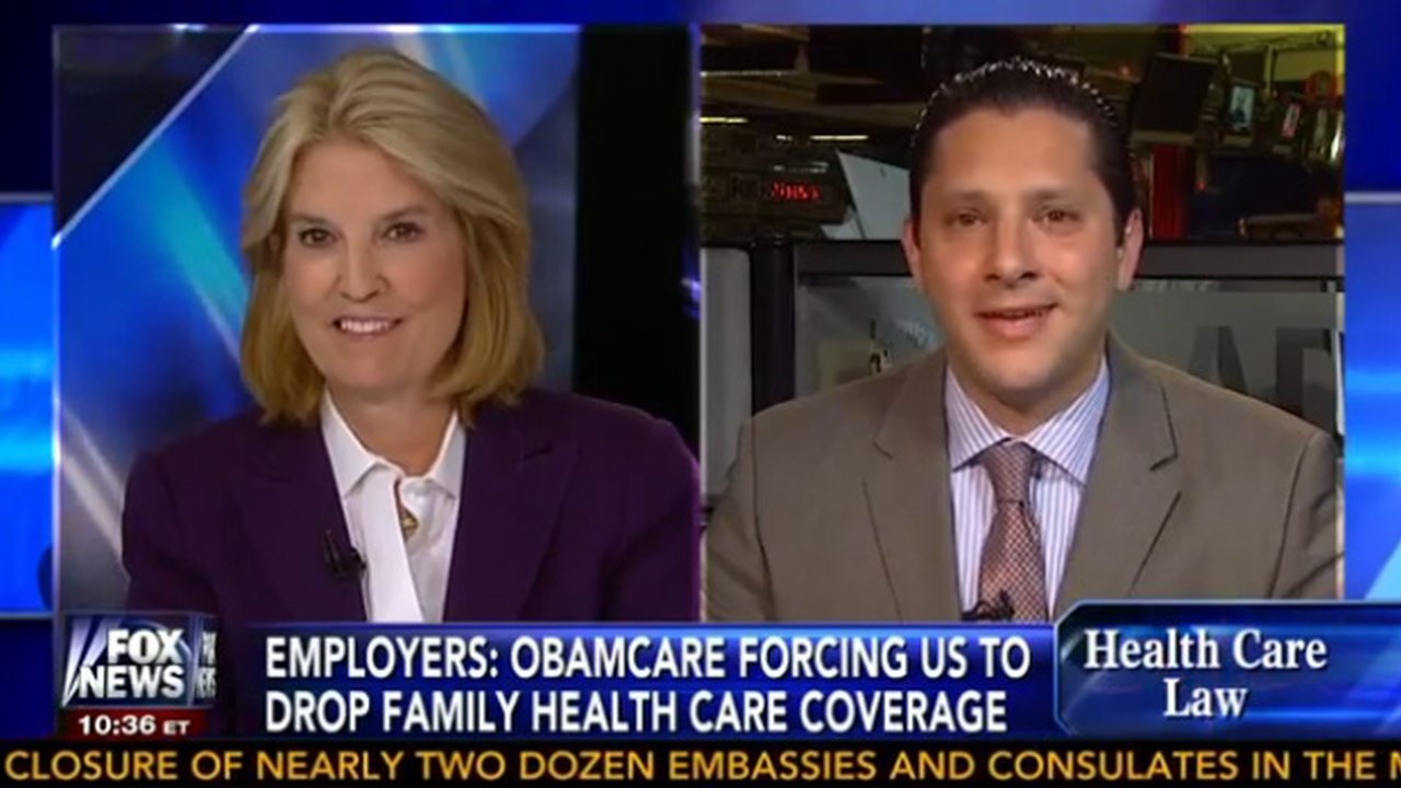 Fox News with Greta Van Susteren - Healthcare For Small Businesses
