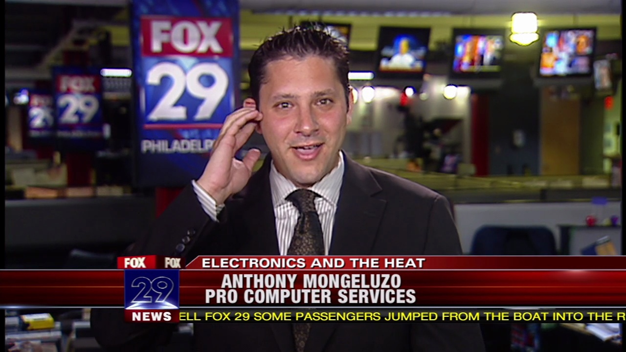Fox News - The effects of heat on portable electronics.