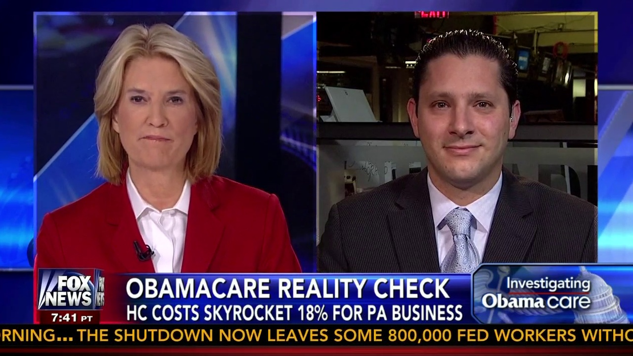 Fox News with Greta Van Susteren: Affordable Care Act: Effects On Small Business